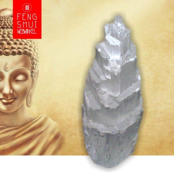 Edelstenen Lamp van Seleniet (XXL) voor Zuivering en Spiritualiteit