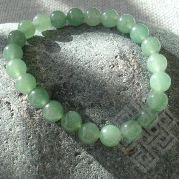 Feng Shui Armband HOUT (Jade, Kua 3,4)