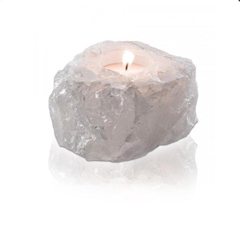 Feng Shui Kristal Theelicht (Bergkristal)