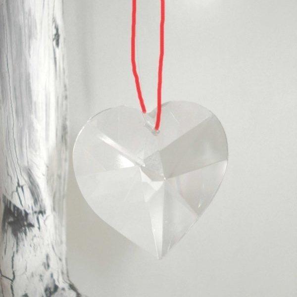 Feng Shui Raamhanger Hart van Kristal
