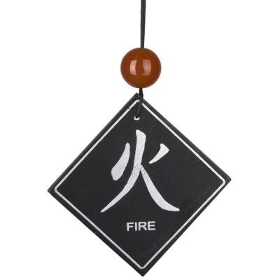 Feng Shui Windgong - Vuur element met Carneool2