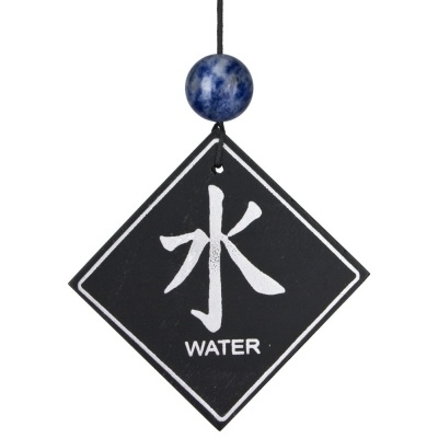Feng Shui Windgong - Water element met Sodaliet