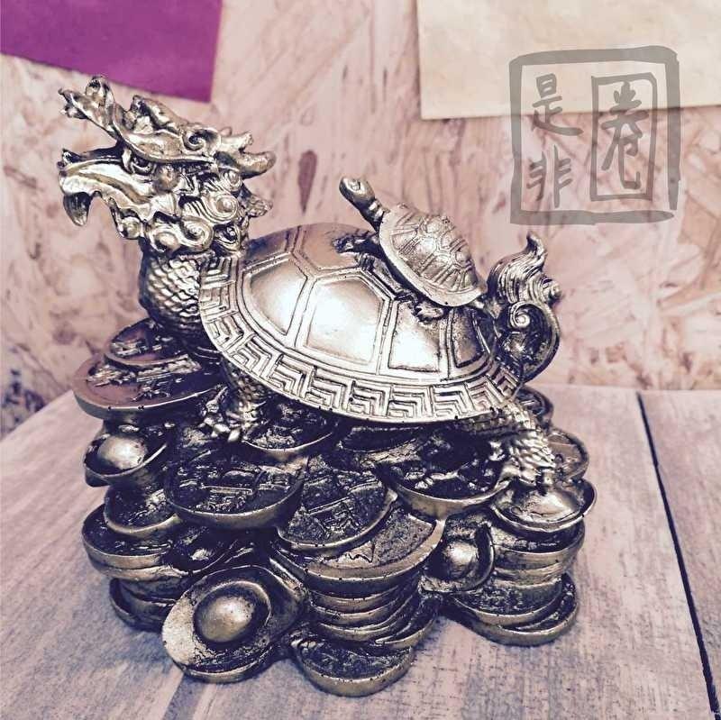 Grote Drakenschildpad voor Carrière en Rijkdom