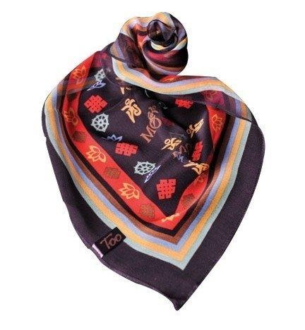 Zijden sjaal OM