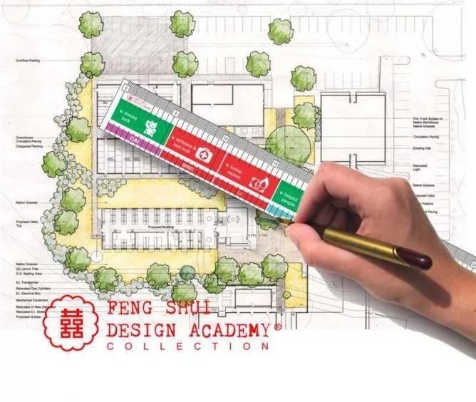 Feng Shui Liniaal - Professionele Uitvoering - 43cm