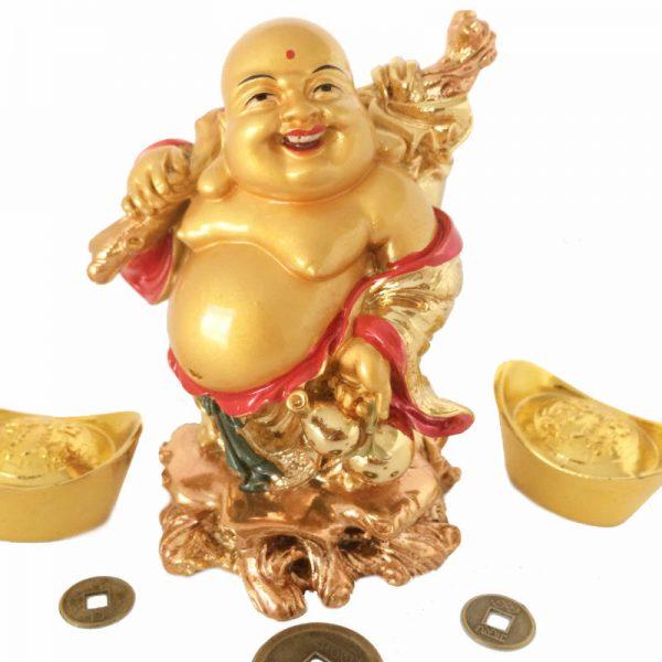 Boeddha - Goud Staand