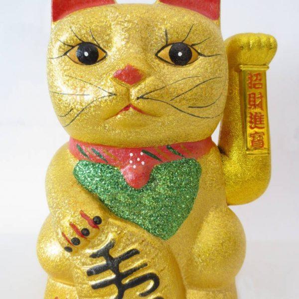 Lucky Cat Groot Goud