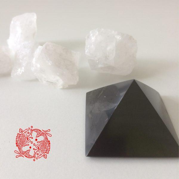 Shungiet - Piramide - Zwart - Vierkant - Feng Shui Webwinkel - 1