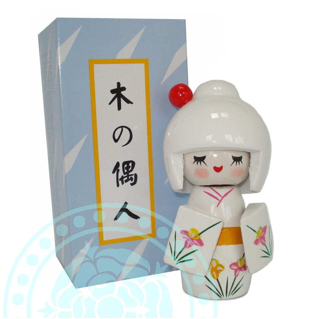 Kokeshi Japans Gelukspoppetje