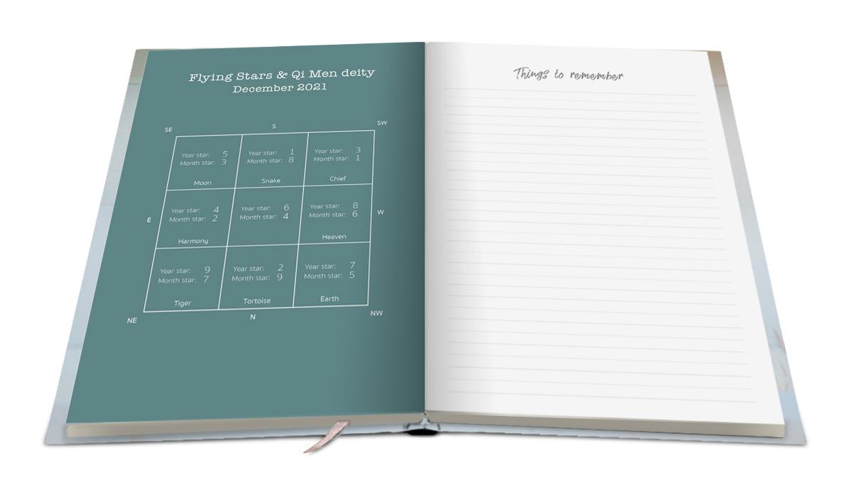 Feng Shui 2021 Kalender Agenda